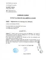 ARRETÉ du 02-10-2009 Réglementation du ramassage des châtaignes