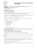 C-R du Conseil Municipal du 26-05-2020