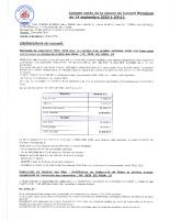 C-R du Conseil Municipal du 14-09-2020