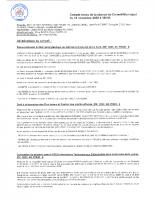 C-R du Conseil Municipal du 13-11-2020