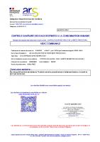 Réseau Les Auches – Sortie réservoir Les Auches